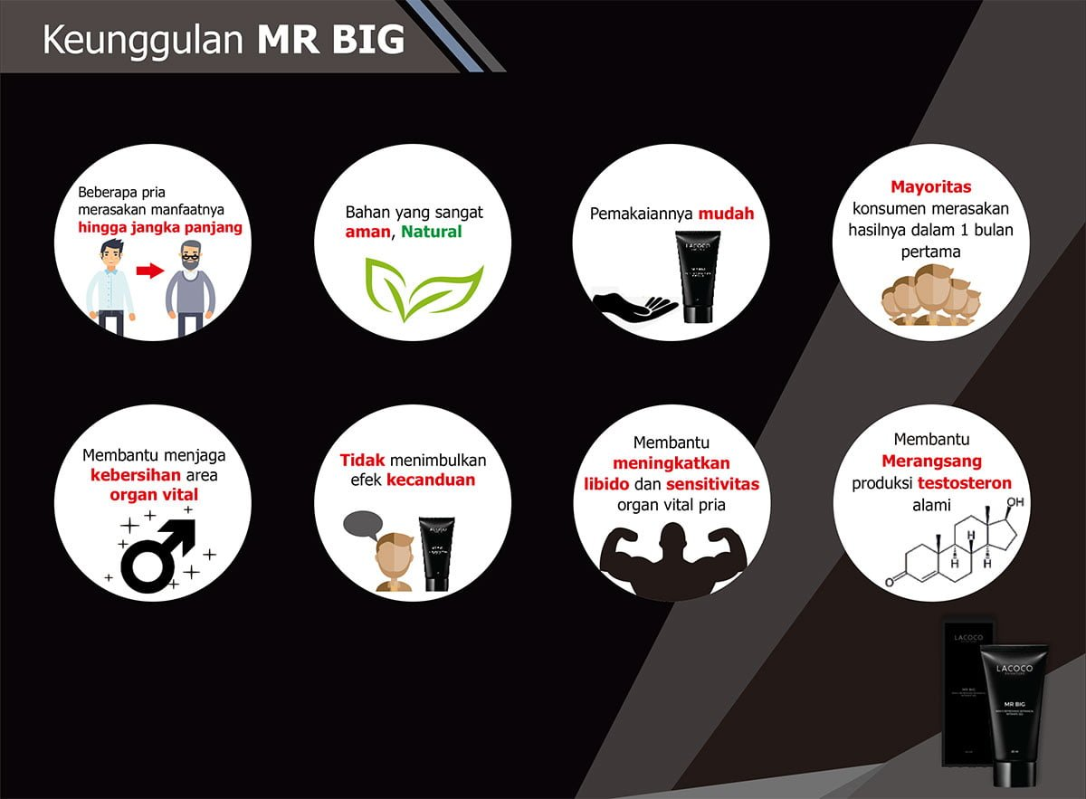Keunggulan Lacoco Mr BIG